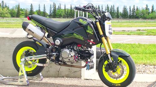Minimob Racing Takegawa Kitaco Mikuni Keihin
